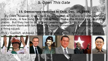 Cold War Part V Chapter 16. Open This Gate, 1989-1991