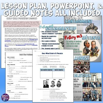 Cold War Policies Complete Lesson Plan