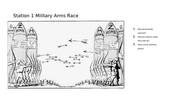 Cold War Political Cartoons