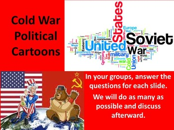 Cool Cold War Political Cartoons with Questions