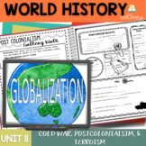 Cold War, Post Colonialism, and Terrorism Interactive Note