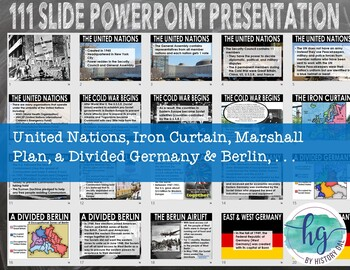 Cold War PowerPoint Presentation for World History