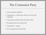 Cold War PowerPoint Presentation