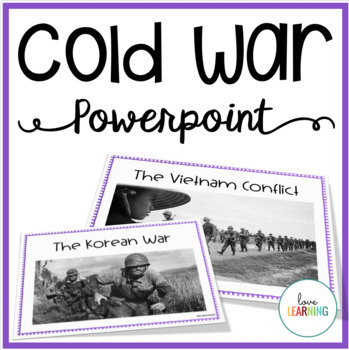 Cold War PowerPoint and Guided Notes
