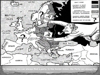 Cold War PowerPoint and Guided Notes - No Korea or Vietnam