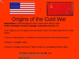 Cold War Powerpoints (2 lessons)