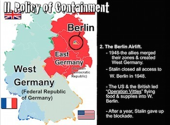 Cold War PowerPoints with Short Video Clips, Presenter Notes & Assessment