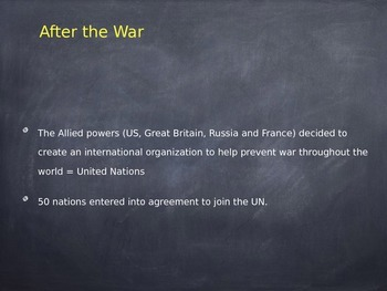 Cold War Presentation (Power Point File)