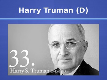 Cold War Presidential Leadership PowerPoint Lecture