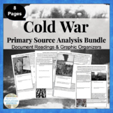 Cold War Primary Source Activity Bundled Set - Homework, Teamwork, Class Review
