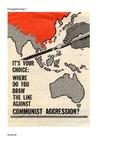 Cold War Propaganda Images Worksheet