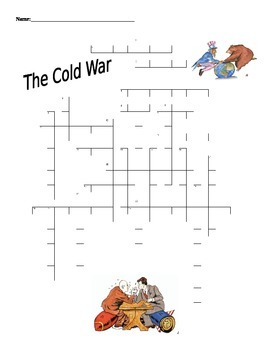 Cold War  Puzzle U.S. History Honors/A.P. Level