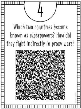 Cold War QR Code