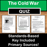Cold War Quiz -  US History STAAR EOC