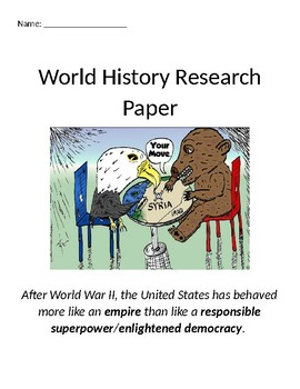 Cold War Research Project