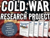 Cold War - Research Project with Rubric (15 Cold War Events)