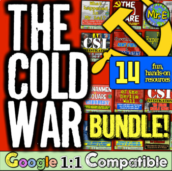Cold War: 11 engaging resources for the 1950s, Korea, Vietnam, Soviets, & China!