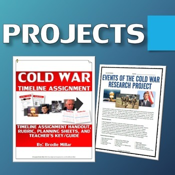 Cold War - Resource Bundle (Projects, Webquests, Assignments, etc.)
