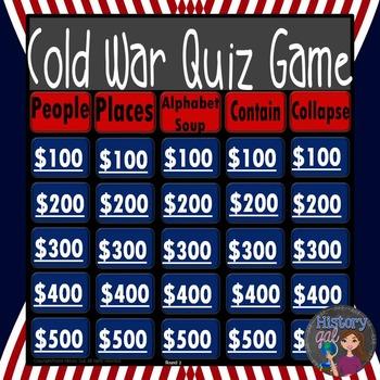 Cold War Quiz Game