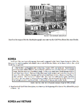 Day 121_Cold War Review: Writing Activity - Lesson Handout