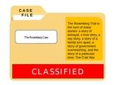 Cold War: Rosenberg CSI Case