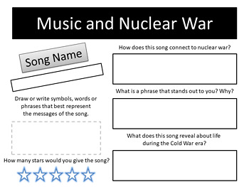 Cold War Scavenger Hunt!  Music, TV, Movies and More!