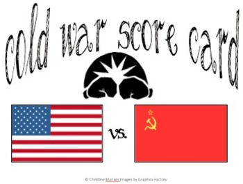 Cold War Score Card
