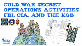 Cold War Game (Spygate) and Skit (FBI, CIA, KGB) - Interactive