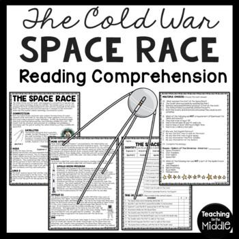 Cold War- Space Race Reading Comprehension Worksheet, Sovi