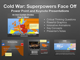 Cold War: Superpowers Face Off (1945-1960's) Power Point/Keynote Presentation