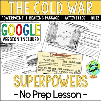 Cold War Superpowers; US vs. USSR, Distance Learning