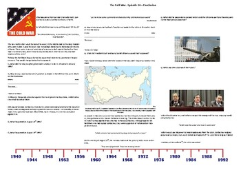 Cold War (TV Series) Ep.24 - Conclusion - Supporting Worksheet