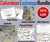 Columbian Exchange Task Cards and Activities Bundle (Age of Exploration Unit)