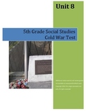 Cold War Test--5th Grade Social Studies