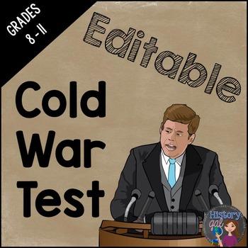 Cold War Test {Editable}