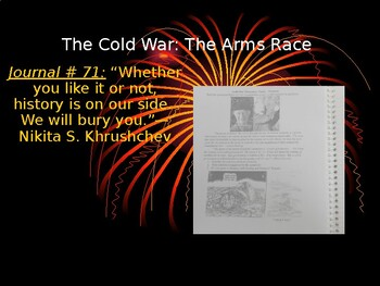 Cold War: The Arms Race