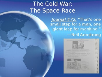 Cold War: The Space Race