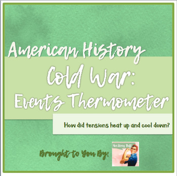 Cold War Thermometer Activity