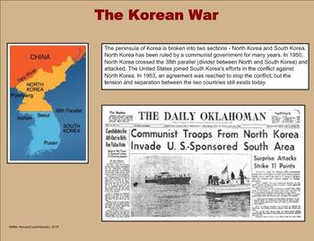 Cold War Through September 11th History -  A Fourth Grade PowerPoint Intro