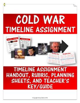 Cold War Timeline Assignment (Handout, Teacher Key, Rubric, etc.)