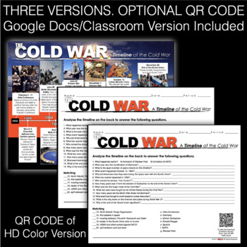 Cold War Timeline - Common Core Aligned