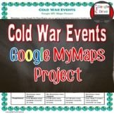 Cold War Timeline - Google Maps Activity (Common-Core)