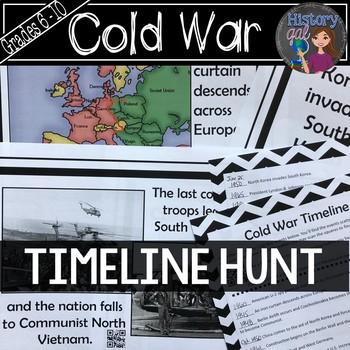 Cold War Timeline Activity