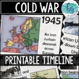 Cold War Timeline {A Printable for Your Classroom}