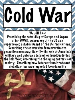 Cold War - US History from 1865 to Present Cornell Notes