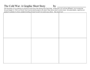 Cold War, USSR, glasnost Writing/Graphic Summary Activity