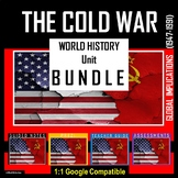 Cold War BUNDLE- (World History) Guided Notes, Prezi, Teac