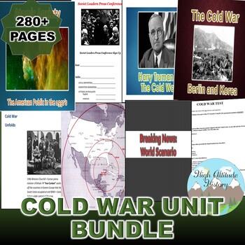 The Cold War Unit Bundle