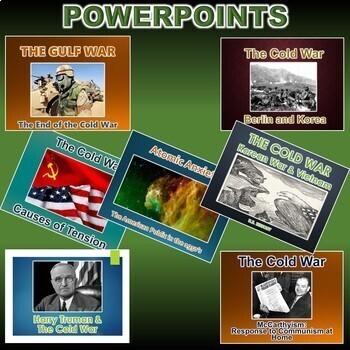 Cold War Unit *Unit Bundle* (World History)