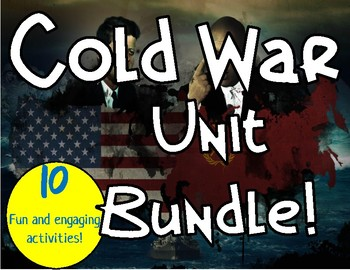 Cold War Unit Bundle